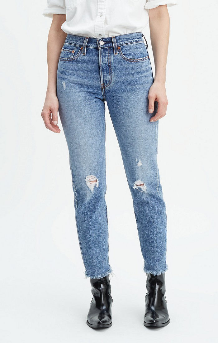 LEVI LADIES WEDGIE ICON FIT TRUTH UNFOLDS JEAN