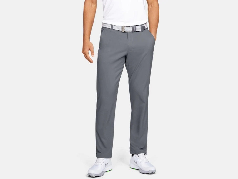 UNDER ARMOUR MENS SHOWDOWN STRAIGHT LEG ZINC GREY GOLF PANT