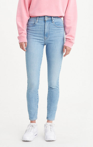 LEVI LADIES MILE HIGH SUPER SKINNY BETWEEN SPACE AND TIME JEANS
