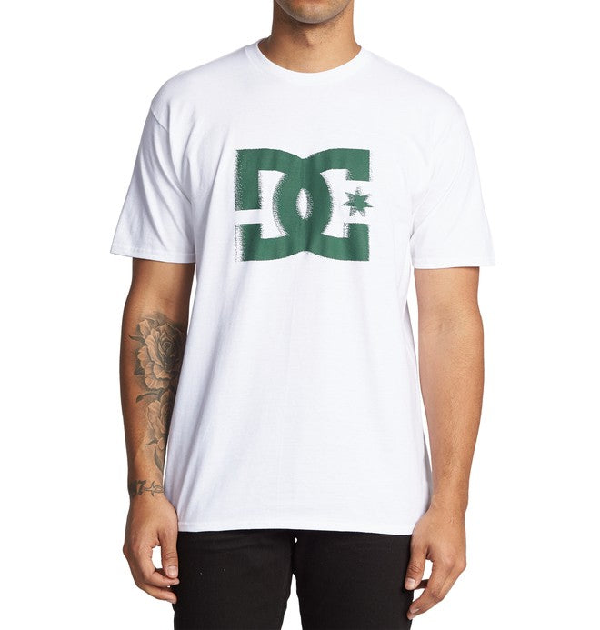 DC MENS WINDY STAR WHITE TSHIRT