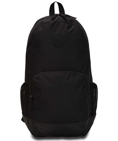 HURLEY RENGD 11 SOLID BLACK BACKPACK