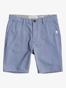 QUIKSILVER YOUTH EVERDAY CHINO LIGHT STONEWASH WALKSHORT