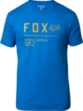 FOX MENS NON STOP PREMIUM ROYAL BLUE TSHIRT