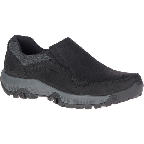 MERRELL MENS ANVIK PACE MOC BLACK SHOE