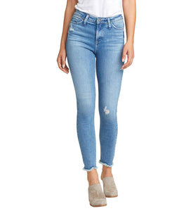 SILVER JEANS LADIES HIGH NOTE HIGH RISE SKINNY JEAN