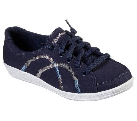 SKECHERS LADIES MADISON AVE ALLOW ME NAVY SHOE