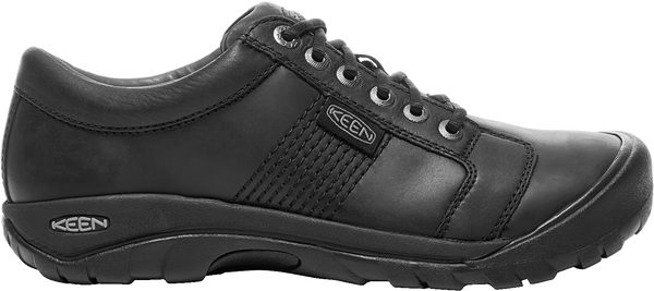 KEEN MENS AUSTIN BLACK SHOE