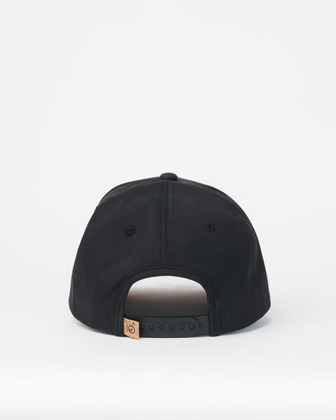 TEN TREE 5-PANEL ALTITUDE CLASSIC TEN METEORITE BLACK/CORK UNDER HAT