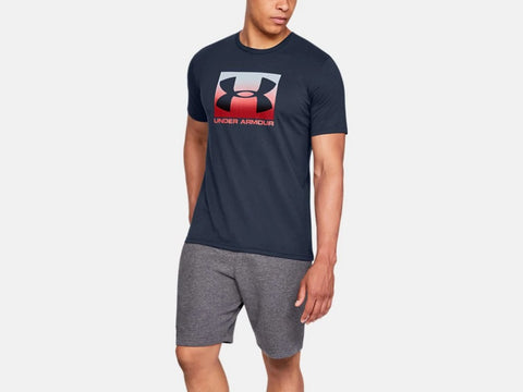 UNDER ARMOUR MENS BOXED SPORTSTYLE ACADEMY TSHIRT