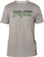 FOX MENS BREAK OUT PREMIUM HEATHER GRAPHITE TSHIRT