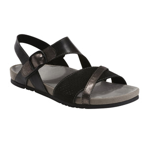 EARTH LADIES LAGUNA BLACK SANDAL