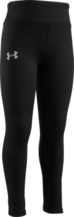 UNDER ARMOUR TODDLER GIRLS BLACK LEGGINGS
