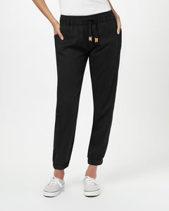 TEN TREE LADIES COLWOOD METEORITE BLACK  PANT