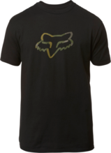 FOX MENS LEGACY FOX HEAD BLACK/CAMO TSHIRT