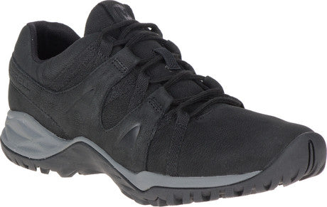 MERRELL LADIES SIREN GUIDED LEATHER BLACK SHOE