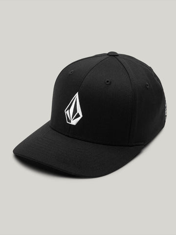 VOLCOM YOUTH FULL STONE XFIT BLACK HAT