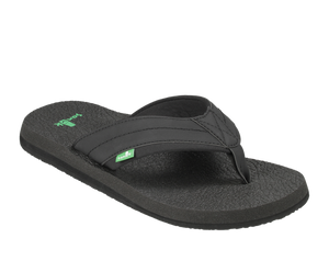 SANUK MENS BEER COZY BLACK SANDAL