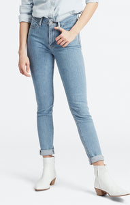 LEVI LADIES 721 HIGH RISE SKINNY SAN FRANCISCO SUNSET JEANS