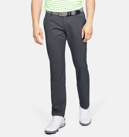 UNDER ARMOUR MENS SHOWDOWN TAPERED LEG PITCH GREY GOLF PANT
