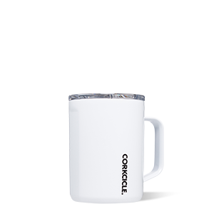 CORKCICLE 16 0Z GLOSS WHITE MUG
