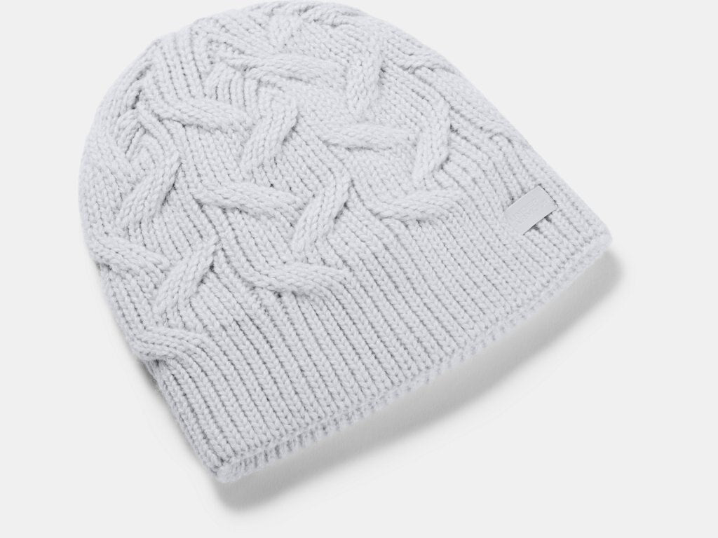 UNDER ARMOUR LADIES AROUND TOWN HALO GREY BEANIE