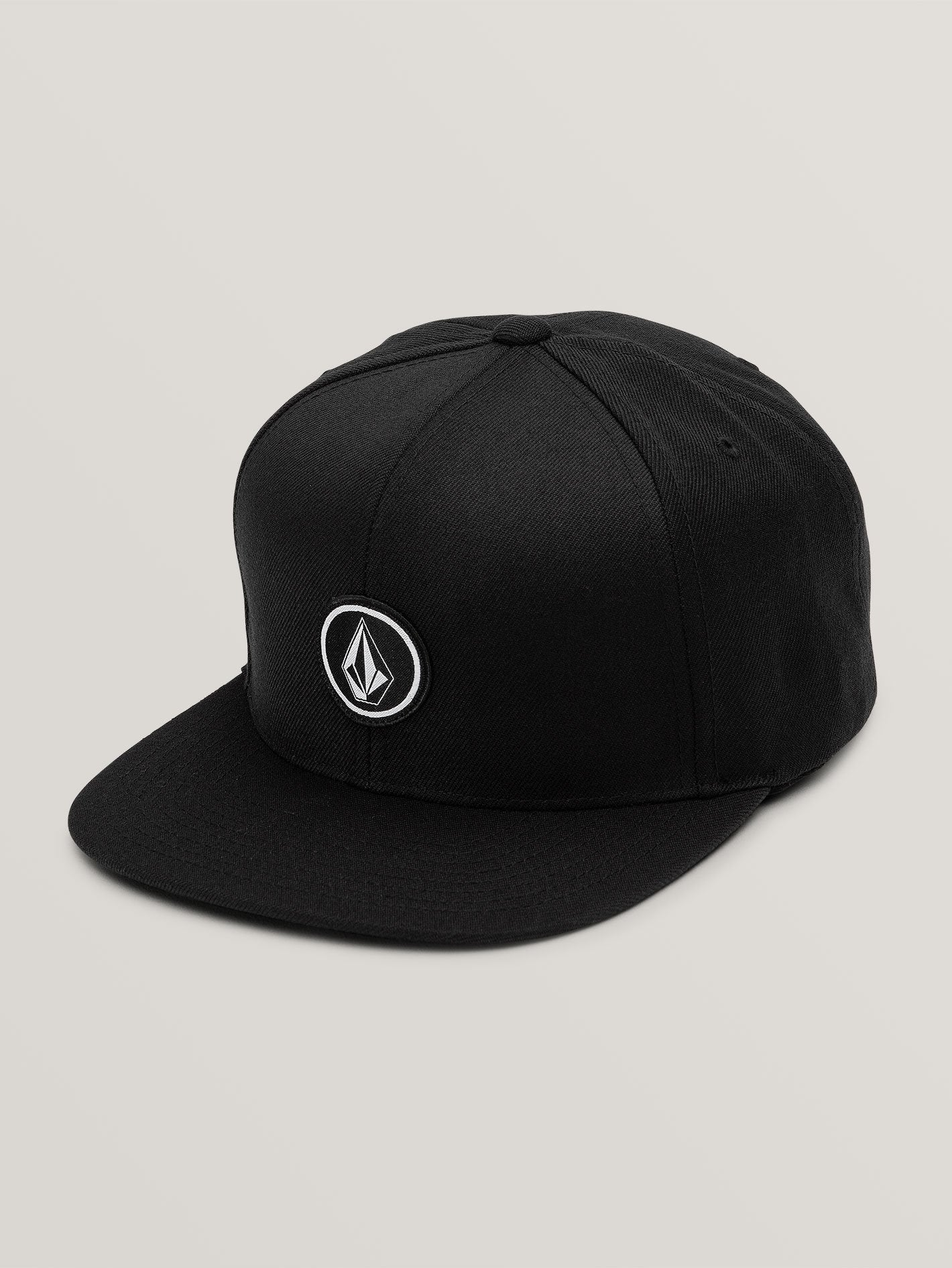 VOLCOM MENS QUARTER TWILL BLACK HAT
