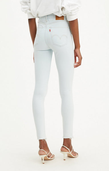 LEVI LADIES MILE HIGH SUPER SKINNY DOWN TO MARS JEAN