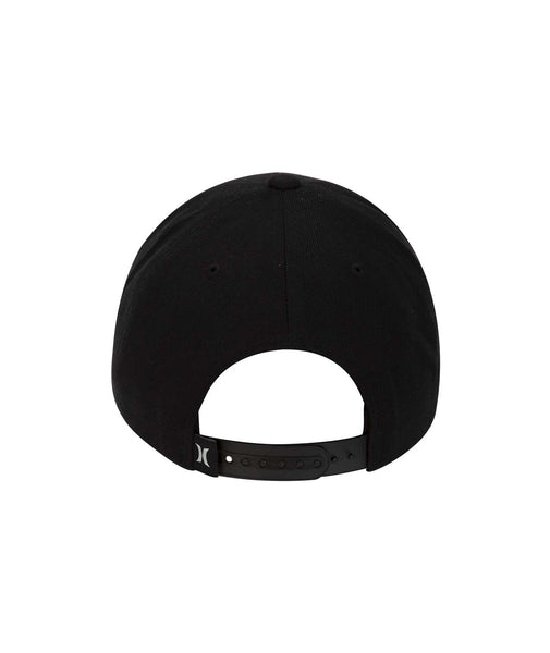 HURLEY MENS ONE AND ONLY BOXED BLACK HAT