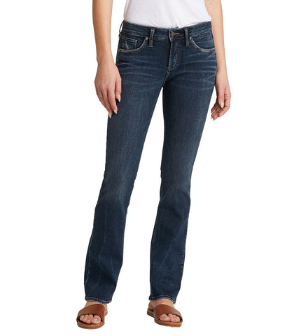 SILVER JEANS LADIES AVERY HIGH RISE SLIM BOOT INDIGO JEANS