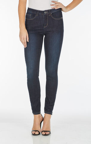 FDJ LADIES OLIVIA SLIM LEG TWILIGHT JEAN
