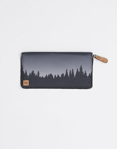 TEN TREE BANKER ZIP METEORITE BLACK JUNIPER WALLET