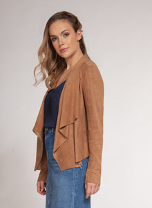 DEX CLOTHING LADIES BROWN BLAZER