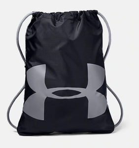 UNDER ARMOUR OZSEE BLACK/STEEL SACKPACK