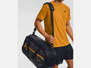 UNDER ARMOUR UNDENIABLE 4.0 MED BLACK/YELLOW DUFFLEBAG