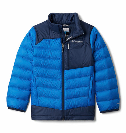 COLUMBIA YOUTH AUTUMN PARK BIGHT INDIGO DOWN WINTER JACKET