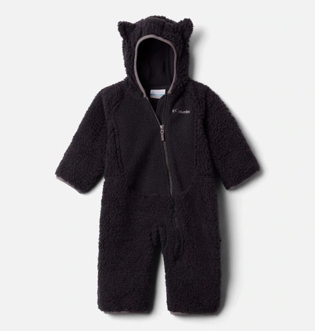 COLUMBIA INFANT FOXY BABYSHERPA BLACK BUNTING