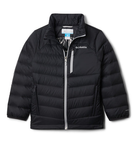 COLUMBIA YOUTH AUTUMN PARK BLACK DOWN WINTER JACKET