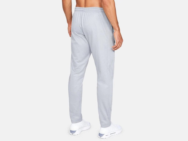 UNDER ARMOUR MENS FLEECE STEEL LIGHT HEATHER PANT