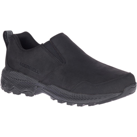 MERRELL MENS FORESTBOUND MOC BLACK SHOE