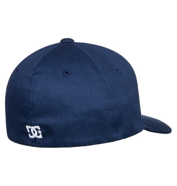 DC YOUTH CAP STAR FLEXFIT BLACK IRIS HAT