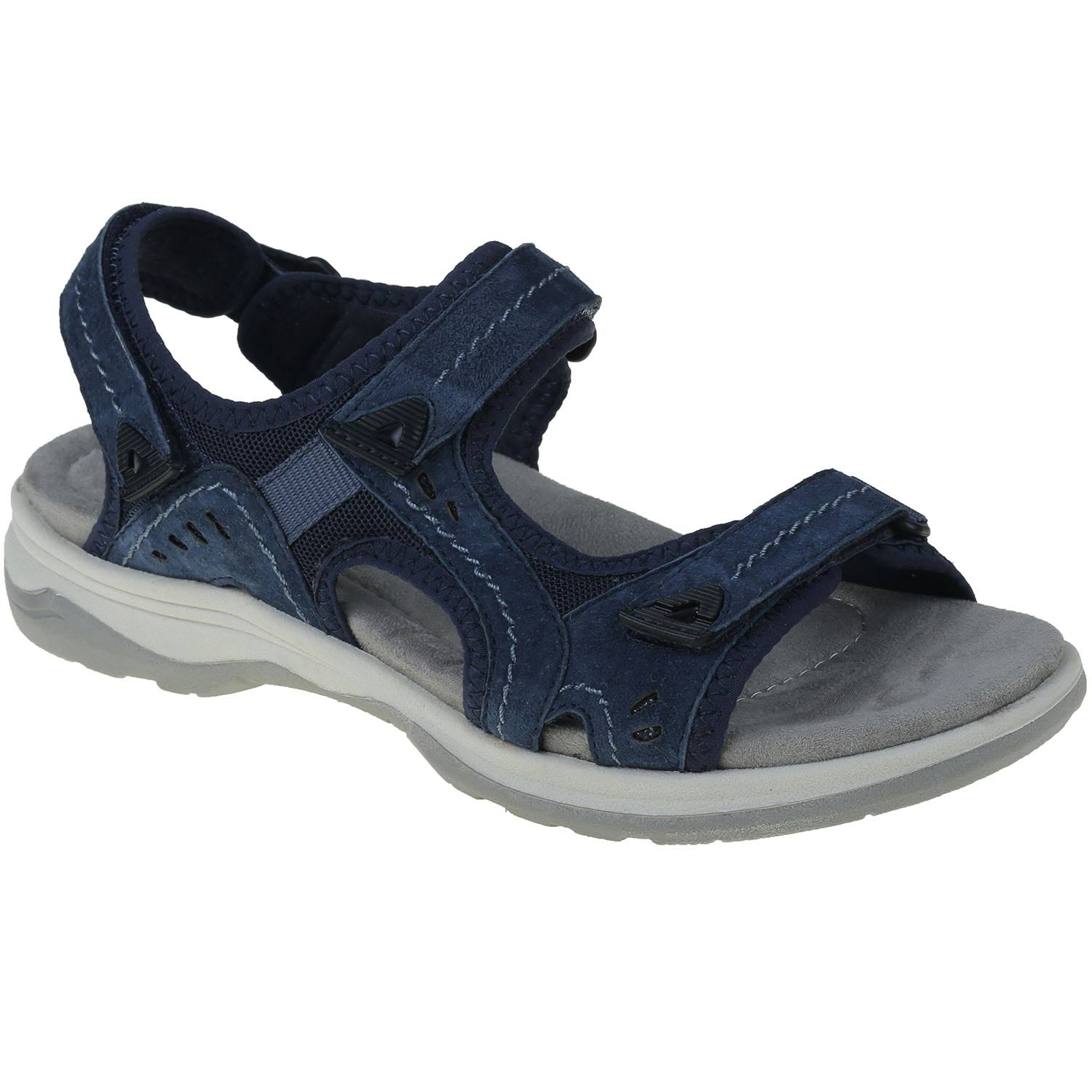 EARTH ORIGINS LADIES HIGGINS-HALTON NAVY BLUE SANDAL