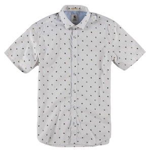 GARCIA MENS SS WHITE SHIRT