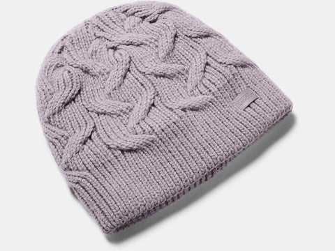 UNDER ARMOUR LADIES AROUND TOWN SLATE PURPLE BEANIE