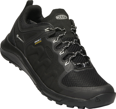 KEEN LADIES EXPLORE WP BLACK/STAR WHITE SHOE
