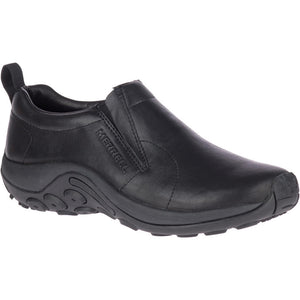 MERRELL MENS JUNGLE MOC LEATHER 2 BLACK SHOE