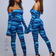 Can't take your eyes off Jumpsuit- Blue