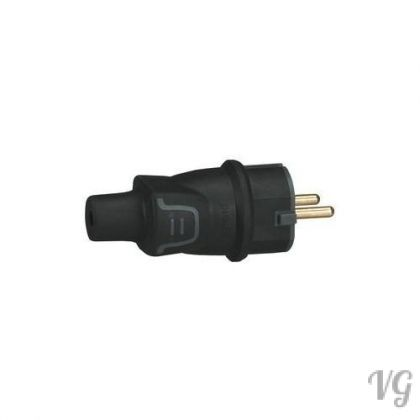 Legrand 050342 VOLLGUMMI-STECKER IP44