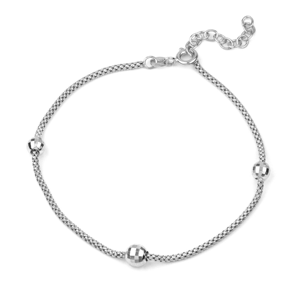 Armband Grasse Rhodium Plated - DiLusso Jewels