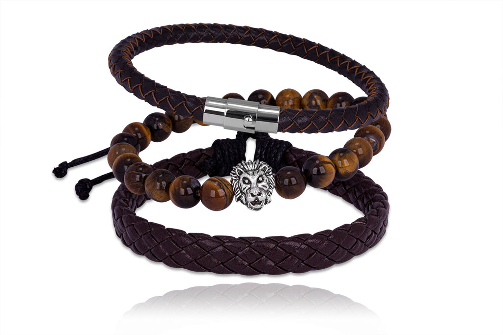 Herenarmband set Adam