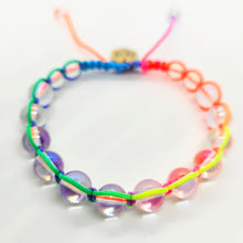 Load image into Gallery viewer, Rainbow Bead Macrame Bracelet